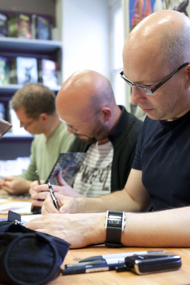 Luc Brunschwig, Laurent Hirn & Olivier Neuray, 21 juin 2011