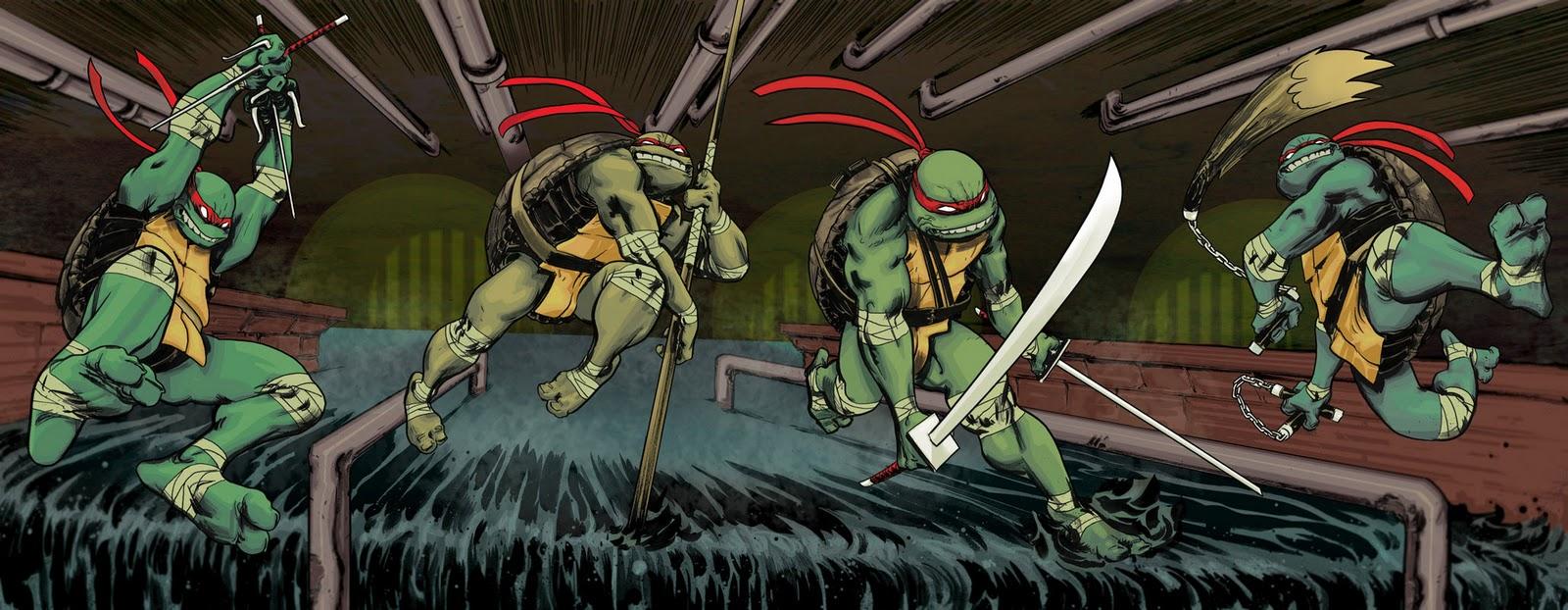 Cowabunga Les Tortues Ninja Sont De Retour...