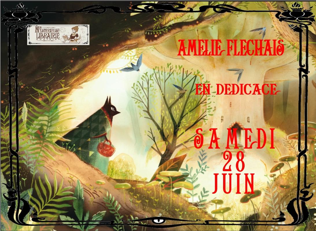 """Amélie Fléchais vient nous présenter """"Le petit Loup rouge"""" Samedi 28 Juin"""