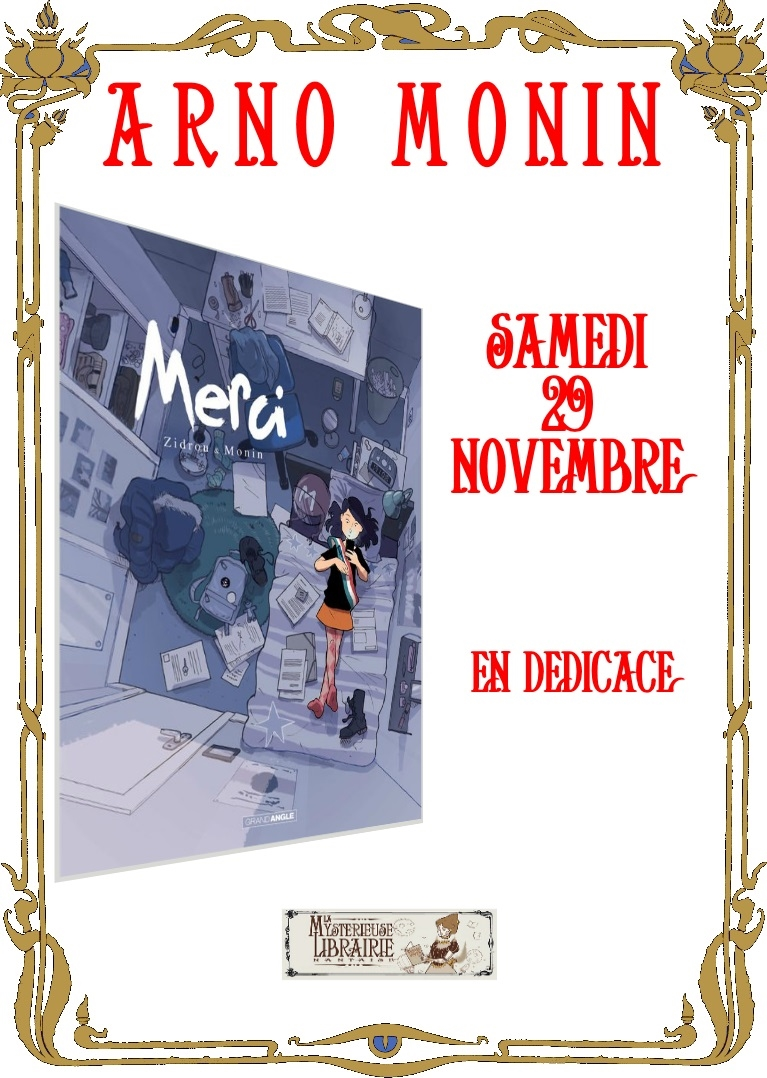 Derniers jours pour l'expo Beuchot-Monin et dédicace !