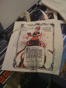 sac Mystérieuse Librairie