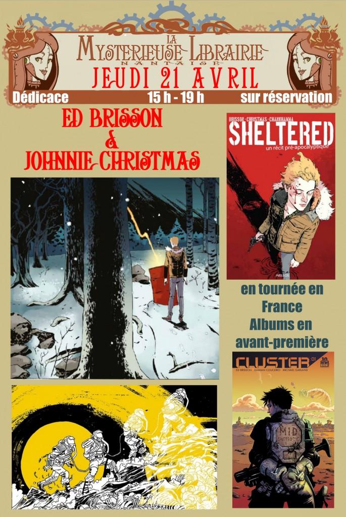 affichettes christmas brisson